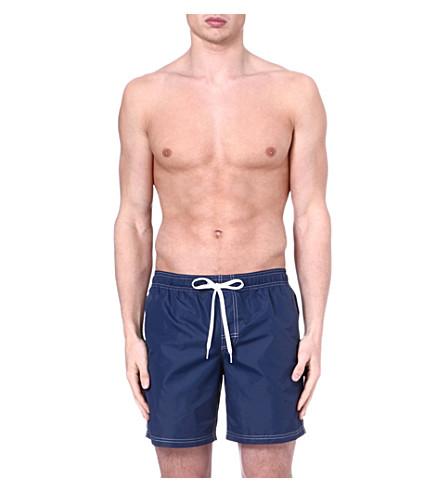SUNDEK Elastic waist swim shorts (Navy