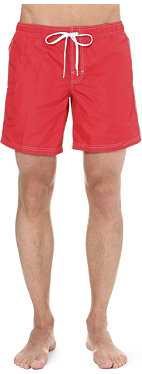 SUNDEK Lolly red swim shorts