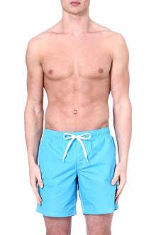 SUNDEK Elastic waist swim shorts