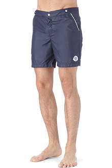 ROBINSON LES BAINS Oxford Long Plain swim shorts