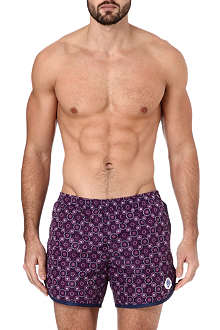 ROBINSON LES BAINS Cambridge Art Deco swim shorts