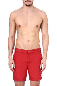ROBINSON LES BAINS Oxford long swim shorts