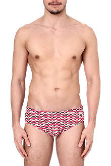 ROBINSON LES BAINS Stanford striped briefs