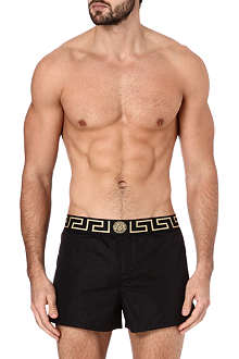 VERSACE Iconic waistband swim shorts
