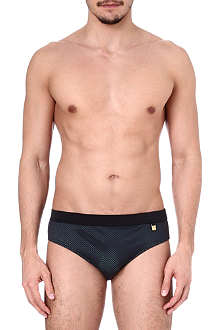 VERSACE Net swimming briefs