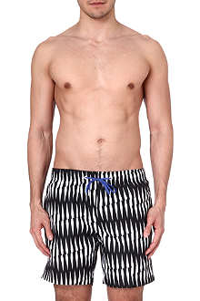 BJORN BORG Criss-cross stripe swim shorts