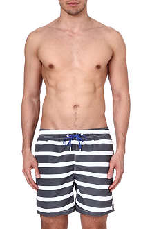 BJORN BORG Heightened stripe swim shorts