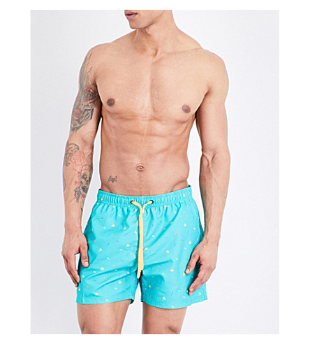 BJORN BORG Beach swim shorts (Turquoise