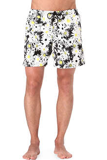 FRANKS Daisy-print swim shorts