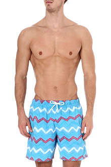 FRANKS Zig zag swim shorts