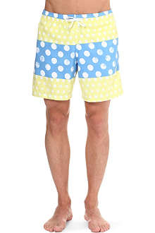 FRANKS Polka-dot swim shorts