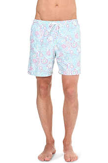 FRANKS Paisley swim shorts