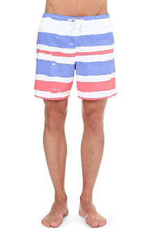FRANKS Striped swim shorts