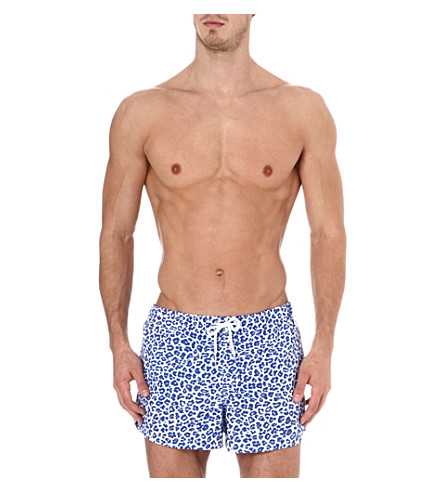 FRANKS Cheetah swim shorts (Sky