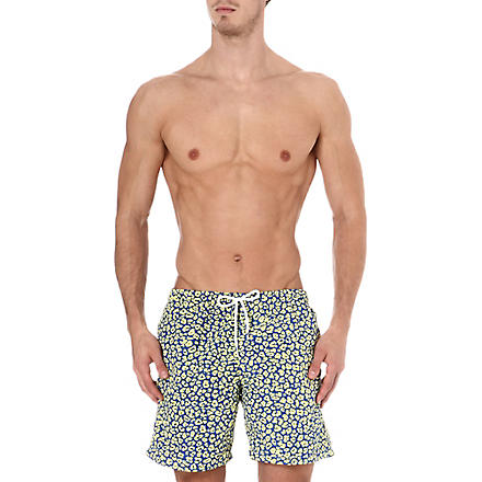 FRANKS Cheetah swim shorts (Yellow