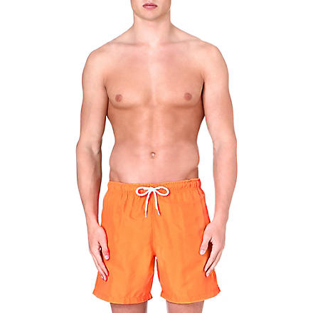 FRANKS Plain swim shorts (Orange