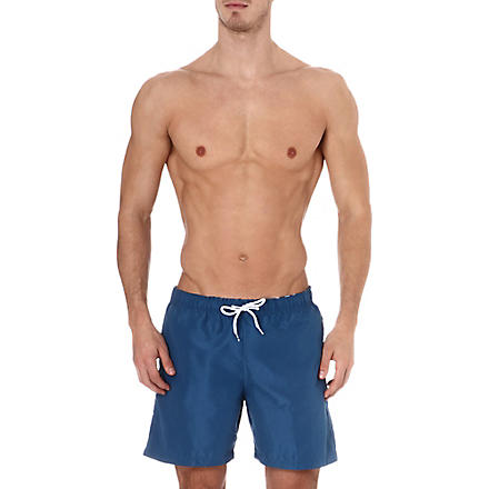 FRANKS Plain swim shorts (Navy