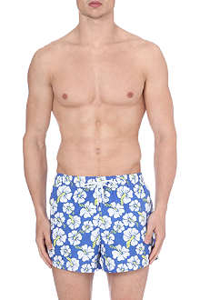 FRANKS Hibiscus swim shorts