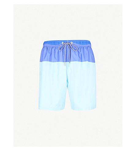 BOARDIES Block Stripe swim shorts (Blues