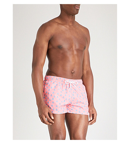 BOARDIES Polka Zen Shortie swim shorts (Pink