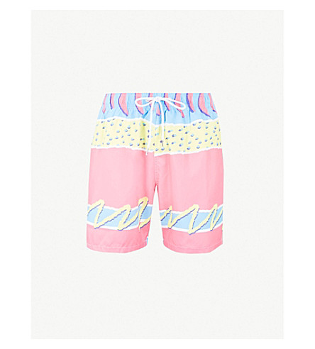 BOARDIES Melon relaxed-fit swim shorts (Pink