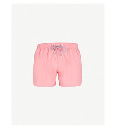 BOARDIES Solid Shortie swim shorts (Red