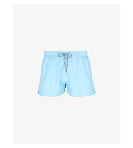BOARDIES Solid Shortie swim shorts (Bright blue