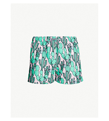 BOARDIES Dry Heat Cacti swim shorts (Pink