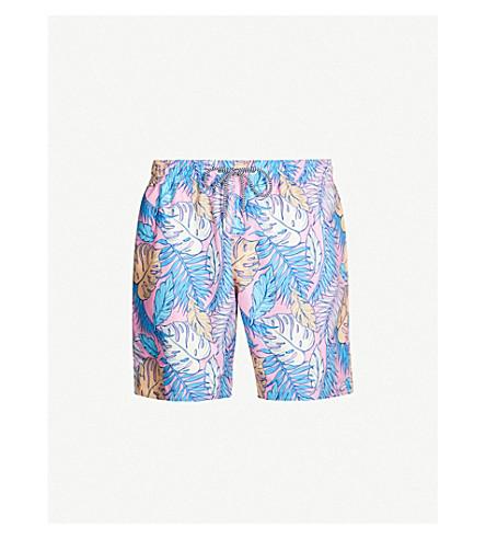 BOARDIES Palmtopia mid swim shorts (Pink