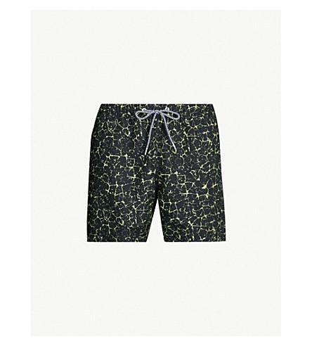 BOARDIES Electric mid swim shorts (Black