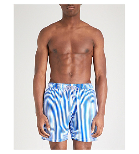 BOARDIES Deck Stripe swim shorts (Navy
