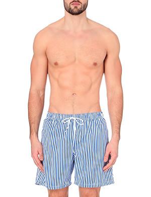 BOARDIES Deck stripe swim shorts