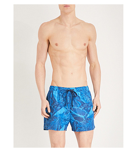 CALVIN KLEIN Tropic swim shorts (Blues