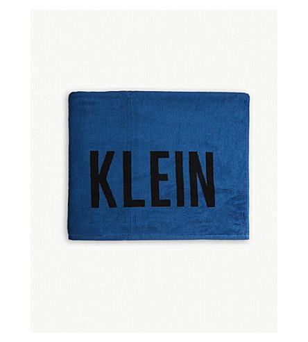 cotton Power towel CALVIN CALVIN Intense Power Blue KLEIN cotton Intense KLEIN towel Rz1qTTxCpw