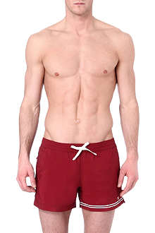 DAN WARD Striped swim shorts