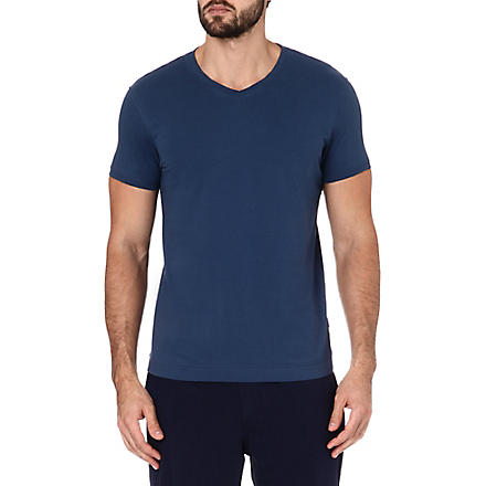 DAN WARD V-neck t-shirt (Indigo