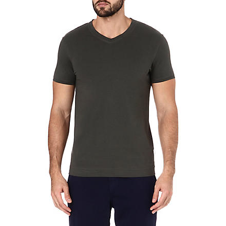 DAN WARD V-neck t-shirt (Khaki