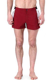 DAN WARD Colourblocked swim shorts
