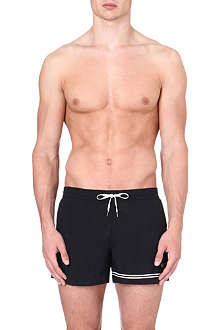 DAN WARD Contrast stripe swim shorts