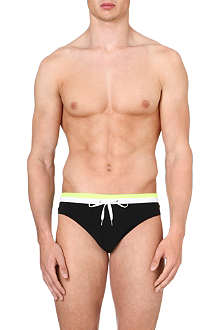 DAN WARD Bi-colour swim trunks