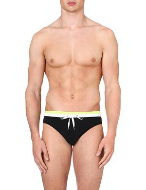DAN WARD Bi-colour swim trunks