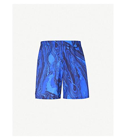 LA PERLA Aqua Pura printed swim shorts (Blue