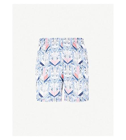 LA PERLA Aqua Pura printed swim shorts (Multi