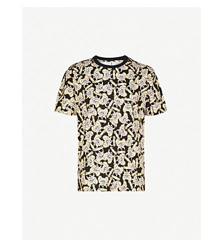 MOSCHINO Teddy cotton-jersey T-shirt (Gold