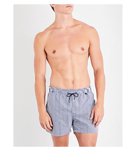 HOM Regatta swim shorts (Blue+white