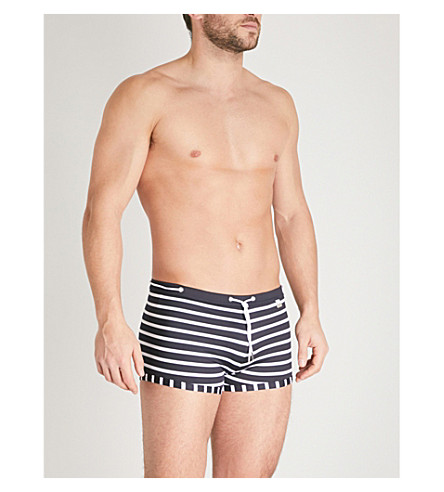 HOM Striped swim trunks (Mono
