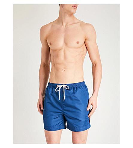 AFIELD Regular-fit swim shorts (Navy