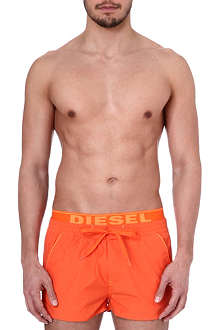 DIESEL Branded swim shorts