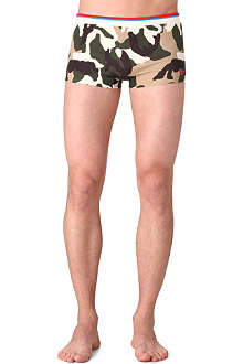 DIESEL Camouflage-print swimming trunks