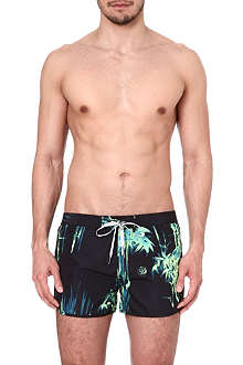 DIESEL Reef print swim shorts